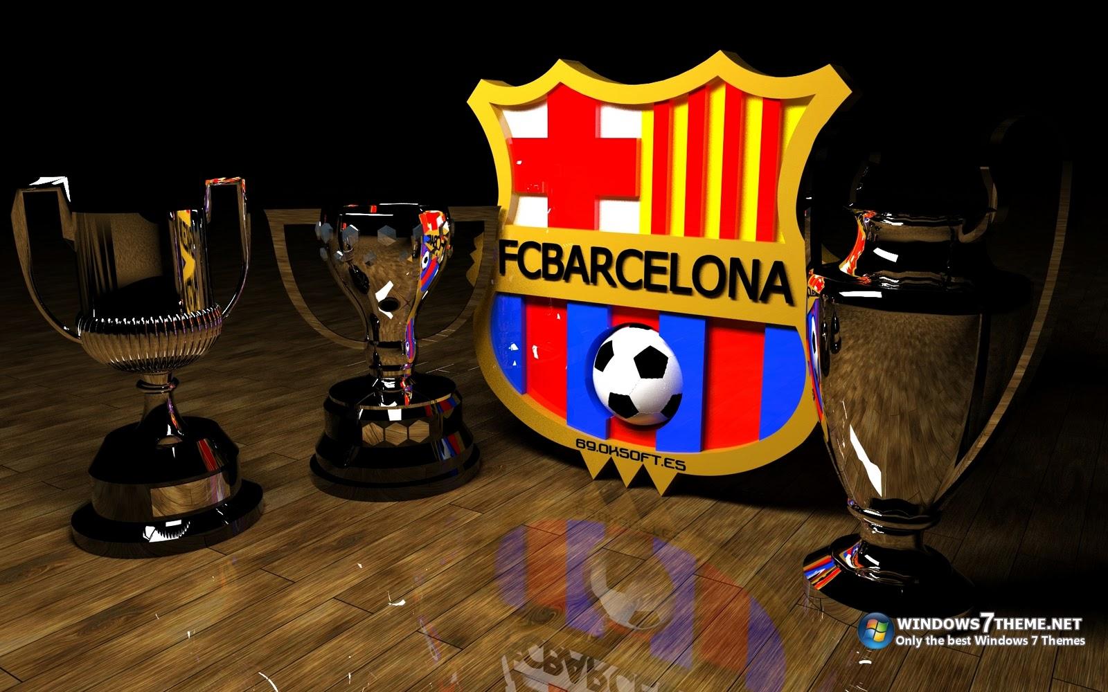 APENAS JOGOS FRACOS: Papel De Parede Do FC Barcelona Com