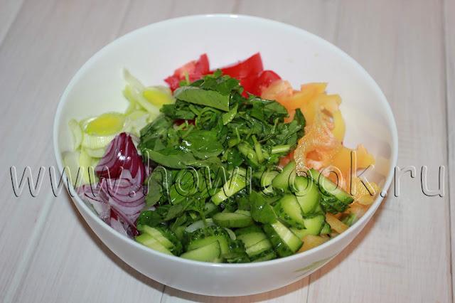рецепт греческого салата с пошаговыми фото
