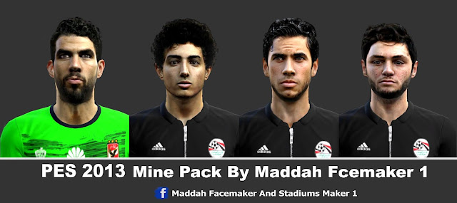 PES 2013 Mini-Facepack By M.F.S : Maddah Facemaker 1