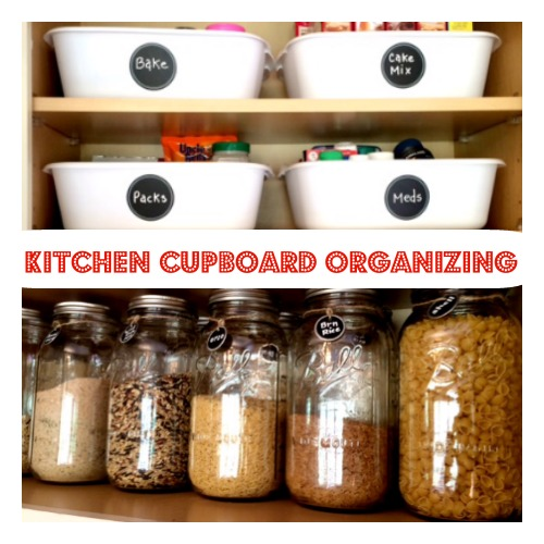 Some very useful inexpensive organizing items are these dish pan containers from the Dollar Tree. These pans are only $1.00 each and are great to use all ... & Kitchen Cupboard u0026 Drawer Organization: Quick Cheap u0026 Easy | My ...