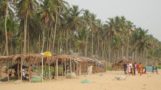 Its lying east of Abidjan