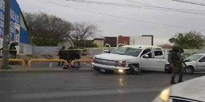 Enfrentamiento en Reynosa Tamaulipas deja saldo de dos delincuentes muertos