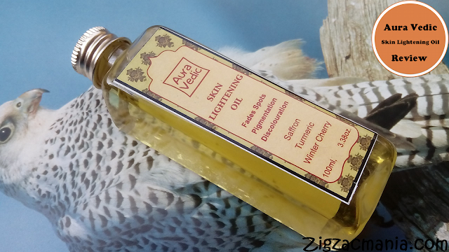 Aura Vedic Skin Lightening Oil Review