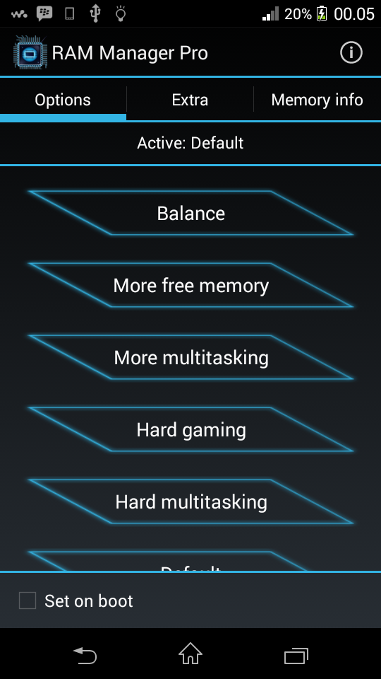 RAM Manager PRO Apk