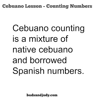 how to count numbers in bisaya or cebuano, counting in bisaya, how to count in cebuano