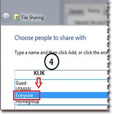 Sharing folder,Jaringan Komputer