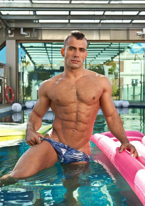 Celeb Gay Vacations Nude Swimming Gif