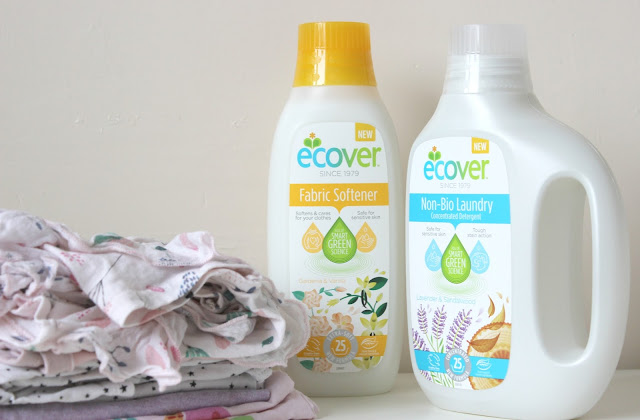 A review of the new Ecover laundry range