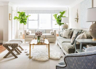10 Desain Interior Vintage apartemen gold minimalis