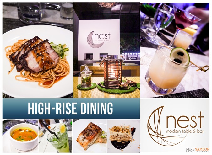 High-Rise Dining (and Drinking!) at Nest Modern Table & Bar in BGC
