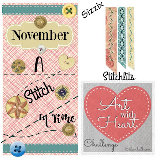 http://www.eileenhull.com/2015/11/art-with-heart-november-challenge-a-stitch-in-time-with-new-sizzix-stitchlits.html