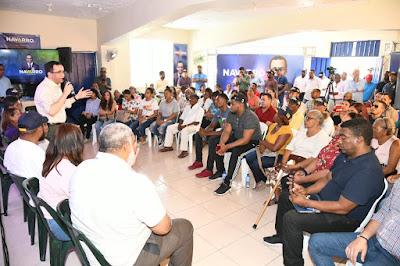 ANDRÉS NAVARRO GARANTIZARÁ TRABAJO SEGURO A LA FAMILIA DOMINICANA