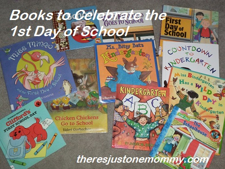 Back to School, Kindergarten, books for kids