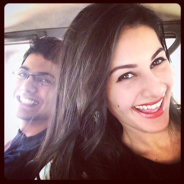 reunited!!! baby brother , ....., Kollywood Actress Amyra Dastur Selfie Pics from Twitter, Instagram