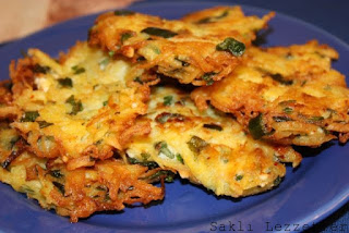 Turkish Hash Browns (Patates Mucveri)