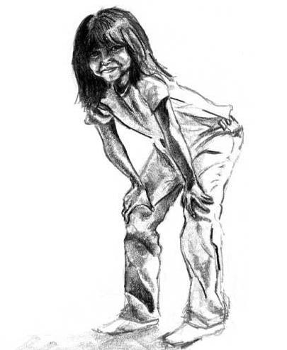 Native American girl, Tani