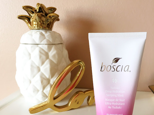 boscia Tsubaki Deep Hydration Sleeping Mask (review)