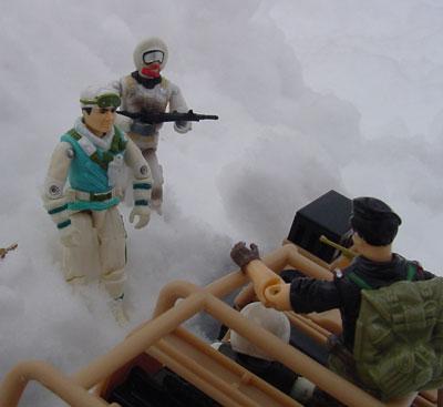 Funskool Iceberg, Caucasian, Flint, Law, 2001 Desert Striker