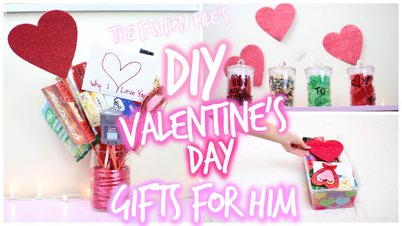 Valentine day ideas for him