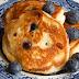 Rikotos blynai su mėlynėmis / Ricotta and Blueberry Pancakes