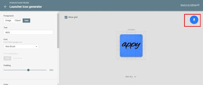 how to create icon for android app, how to make an app icon, how to create android app icon