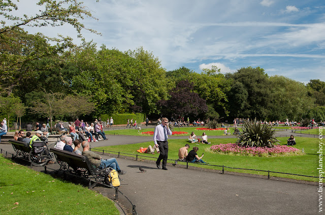 Stephen's Green Park Dublin Irlanda
