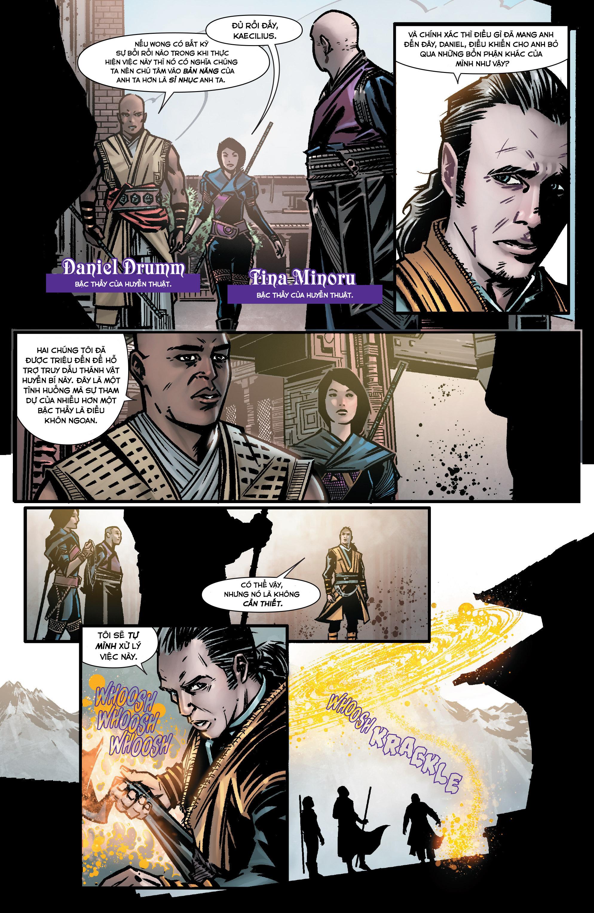 Doctor Strange Prelude kỳ 1 trang 6
