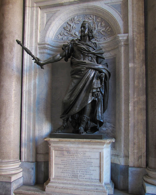 King Philip IV of Spain by Gian Lorenzo Berniniand and Girolamo Lucenti, Basilica di Santa Maria Maggiore, Rome