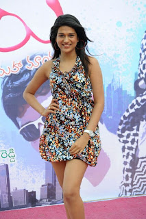Shraddha Das Latest Spicy Picture Gallery in Mini Dress Exposing Cute Legs