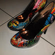 DIY Comic Shoes ;D
