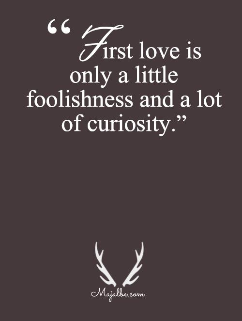 Foolishness And Curiosity