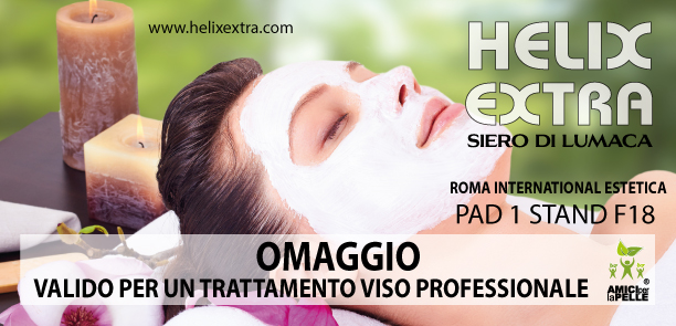 fiera roma international estetica 2017 - omaggio helix extra