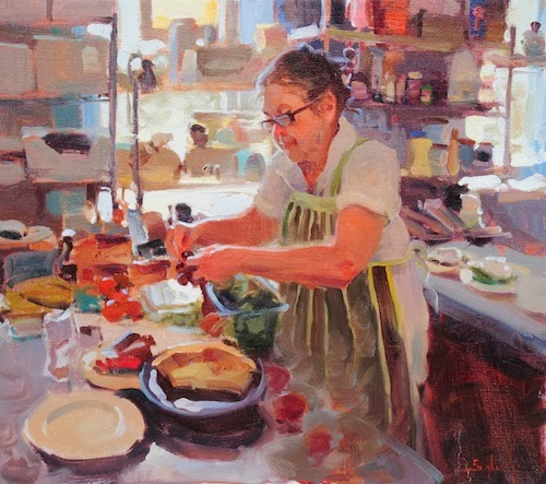 Grandmothers Kitchen: Saks Galleries Blog: New Works From Kim English Now