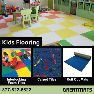 Greatmats Kids Flooring for Playrooms and Bedrooms