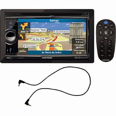 """DVD Player Positron SP8960NAV Tela 6,2"""""""