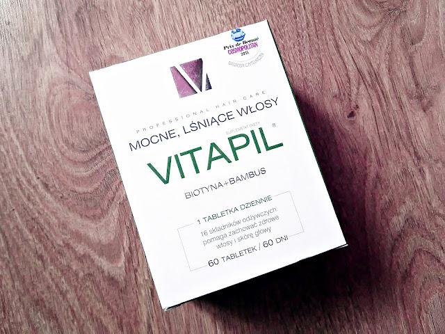Vitapil, biotyna + bambus - mocne, lśniące włosy, opakowanie
