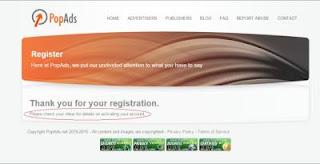 pop ads 3mgjp Cara mudah Daftar dan Menghasilkan Uang dari PopAds