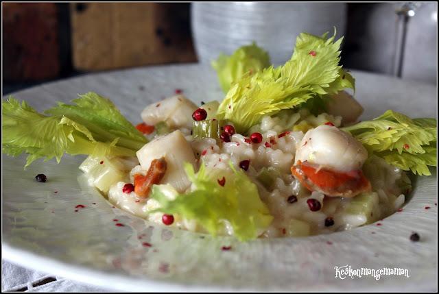 Keskonmangemaman concours de noel avec gmpot le risotto for Allez cuisine translation