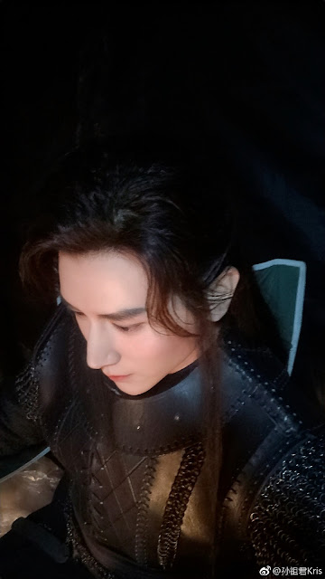 Ever Night 2 Cast Filming Kris Sun Zujun