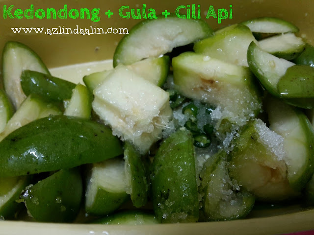 RESEPI MUDAH KEDONDONG GULA CILI API