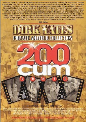 200 Cum Shots Cover Back