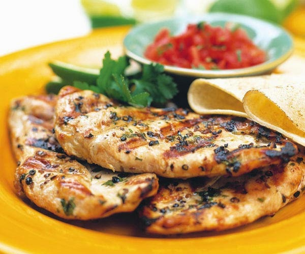 Grilled Chicken Breasts , weight watchers recipes , 4 smartpoints