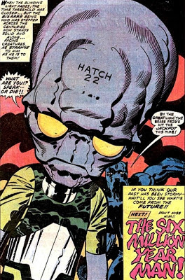 Jack Kirby's Black Panther #1, Hatch 22