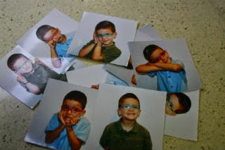 Manualidad infantil memori emociones