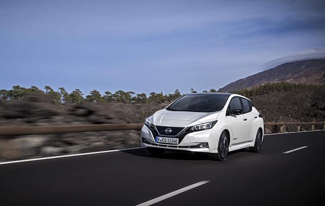 Novo Nissan LEAF é líder em vendas de veículos elétricos na Europa  New_Nissan_LEAF_Europe_model_source