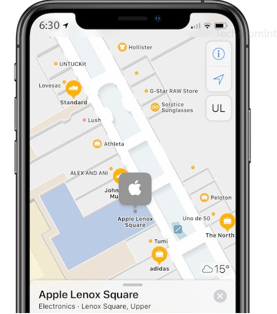 Apple Maps Benefits In-door Maps Over 20 Additional Departmental Stores and Airports Around the Universe