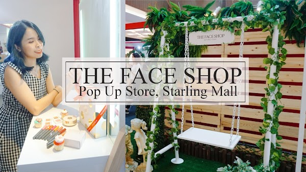 The Face Shop Pop Up Store at Starling Mall