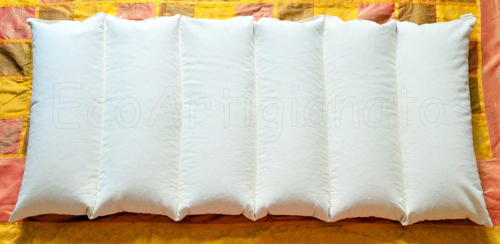 Ecoartigianato materassi e cuscini per lettino e culla for Cuscini materasso