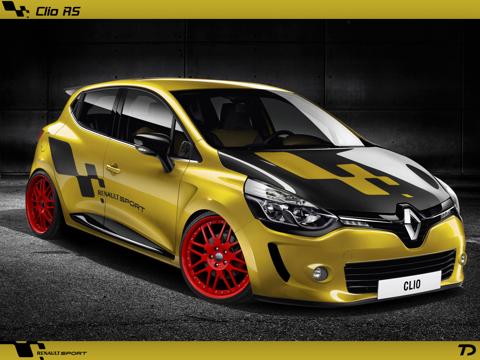 renault clio tuning. Black Bedroom Furniture Sets. Home Design Ideas