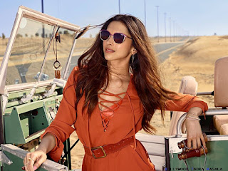 Deepika Padukone exclusive stills from Vogue Eyewear Shoot in Dubai